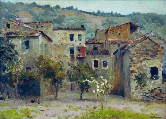 Исаак Ильич Левитан - Близ Бордигеры. На севере Италии (1). 1890