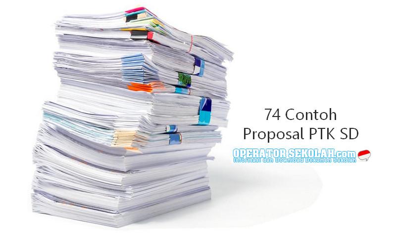 74 Contoh Penyusunan Proposal PTK (Penelitian Tindakan Kelas) SD