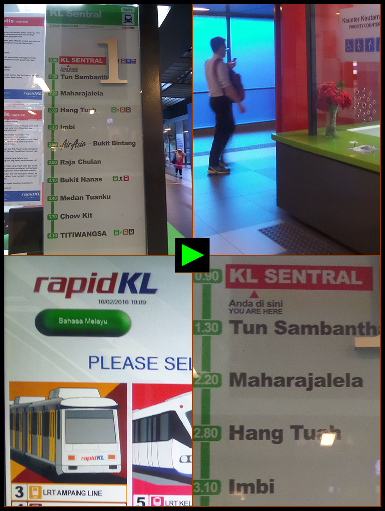 KL SENTRAL RAIL STATION
