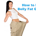 How to Lose Belly Fat in a week-  Effective Tips