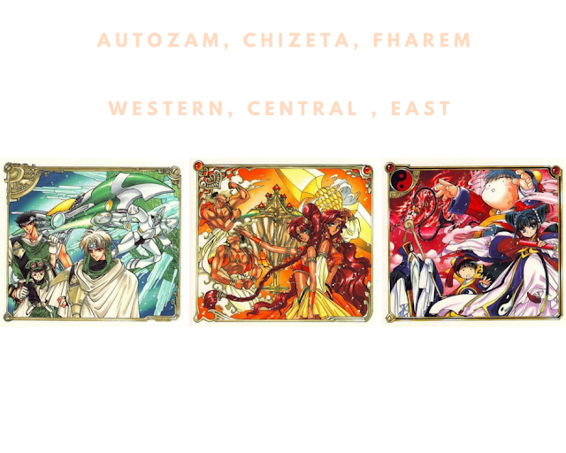 anime in real life, autozam, chizeta, fharem, magic knight rayearth