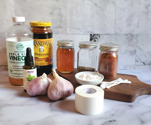 All Natural First Aid Kit for Chickens