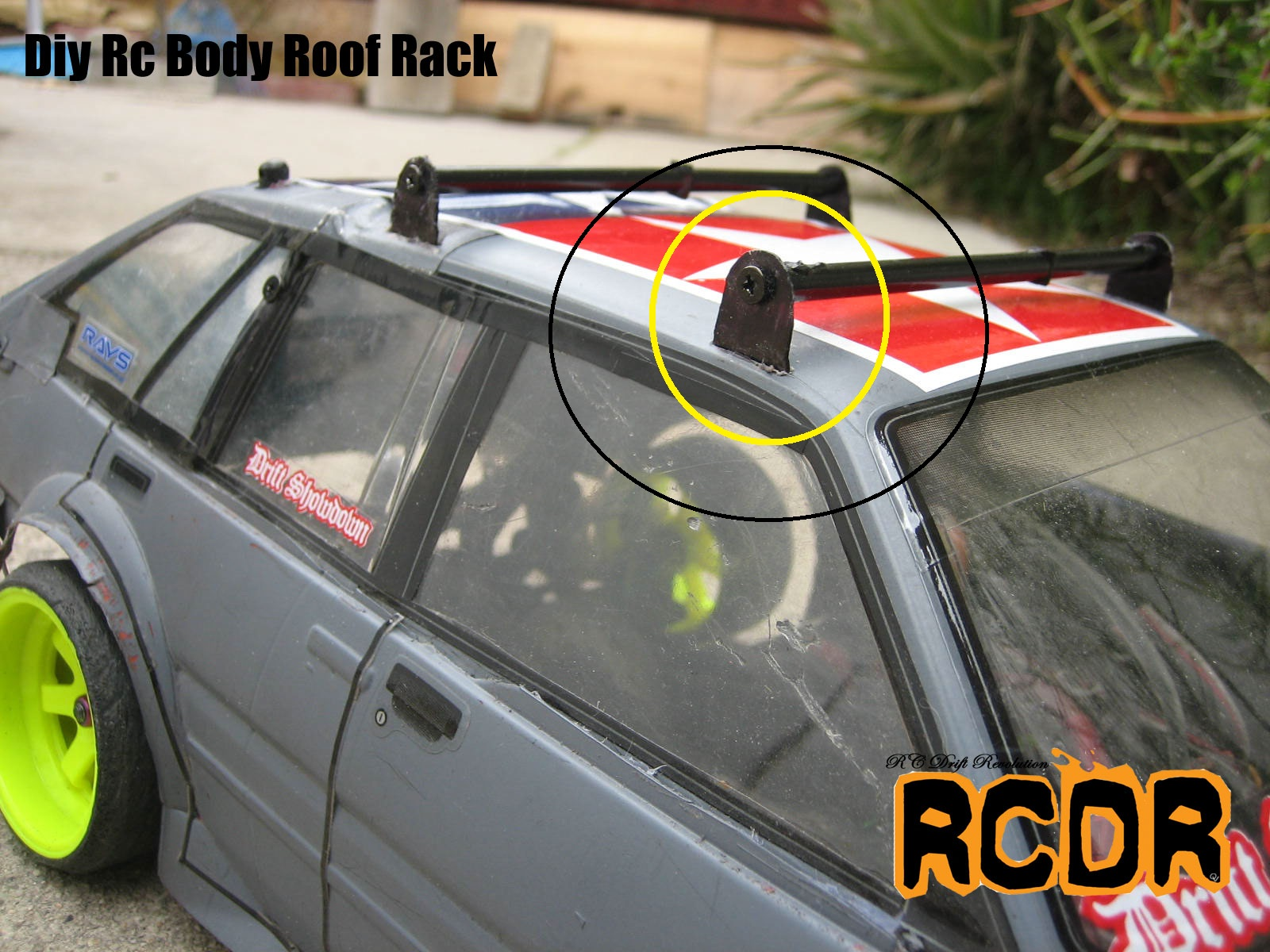 Auto Dakdragers Rc Drift Revolution Project Diy Rc Body Roof Rack