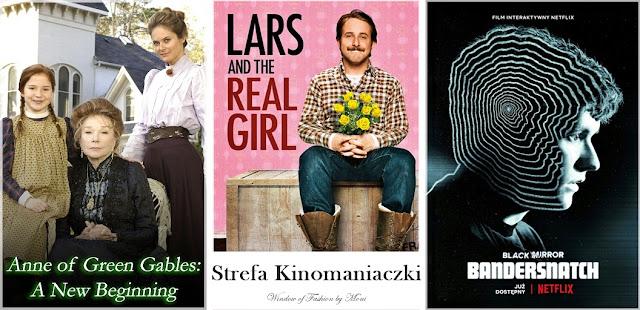 Ania z Zielonego Wzgórza: Nowy Początek, Miłość Larsa, Czarne lustro: Bandersnatch