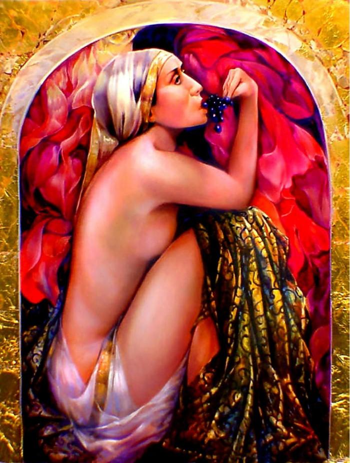 Символизм в живописи. W.A. Di Bolgherese 9