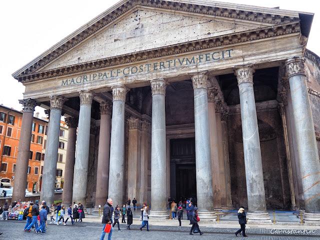 Roma - Clãdirea Panteonului - blog FOTO-IDEEA