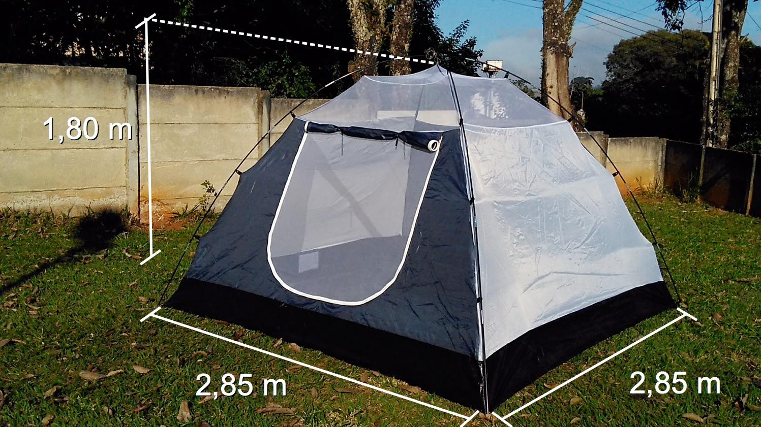 778e41dcd Barraca de camping Mor LUNA 7 - Review completo e projeto de melhorias