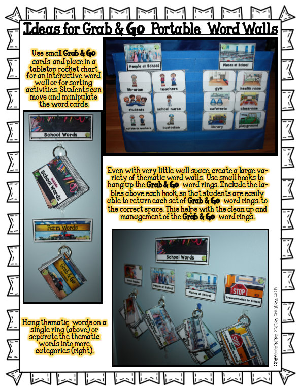 Grab & Go Archives | Differentiation Station Creations