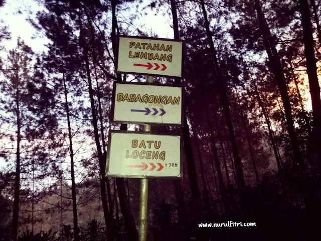 mengejar sunrise di patahan lembang bukit moko