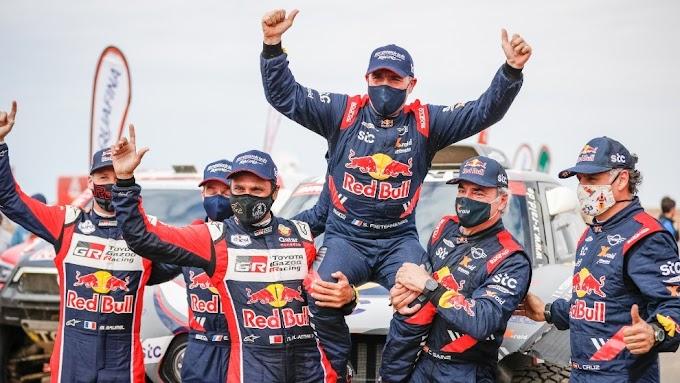 30 años de su primer Dakar, Stéphane Peterhansel gana por 14°  vez el mítico Rally.
