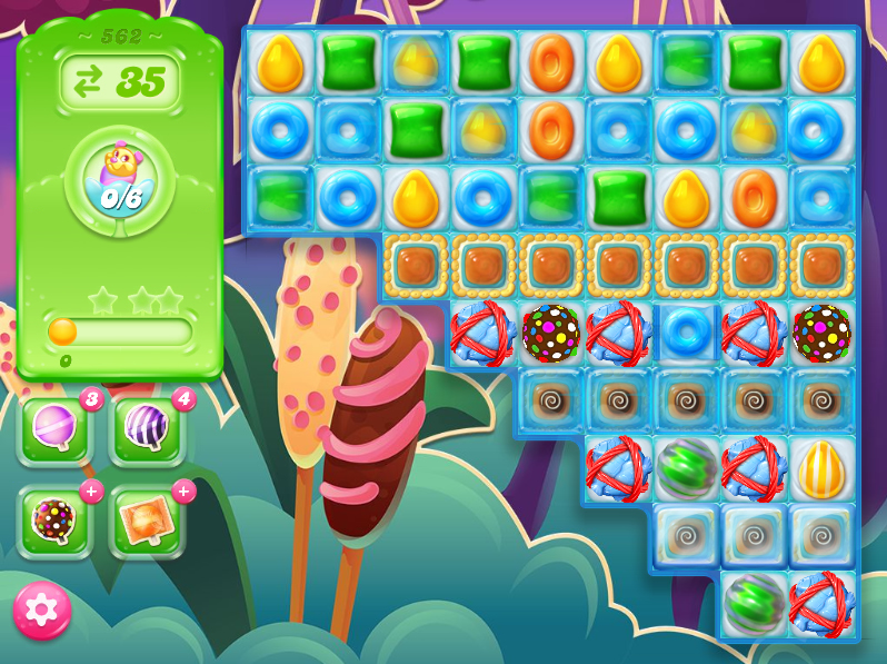 Candy Crush Jelly Saga level 562