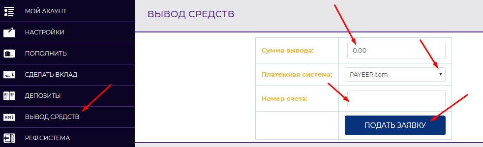 Регистрация в BitVenture 6
