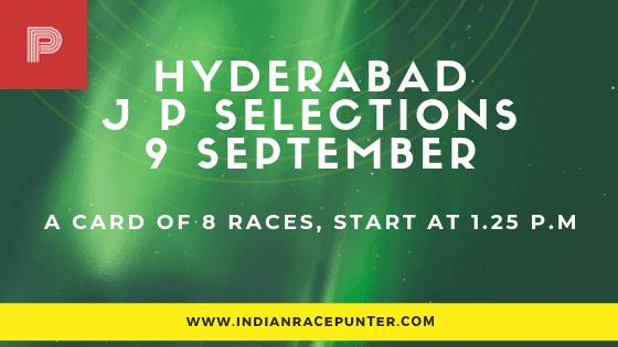 Hyderabad Jackpot Selections 9 September