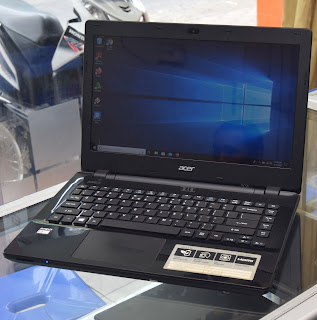Laptop Acer Aspire E5-421 AMD A4 Series di Malang