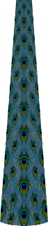 Traditional peckock print lehenga