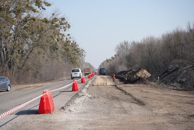На Київщині триває ремонт дороги Фастів – Митниця – Обухів – Ржищів