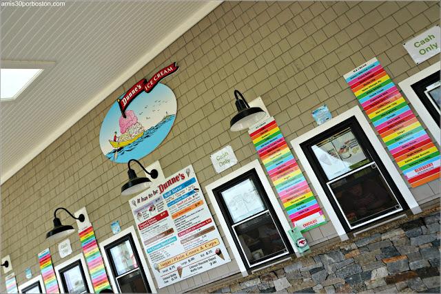 Heladería Dunne's Ice Cream en el Cabo Neddick, Maine