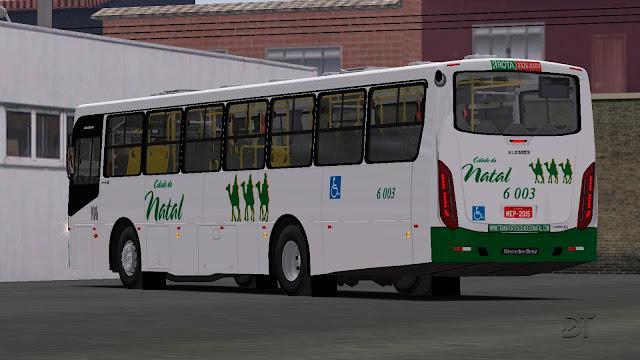 OMSI 2 - Pintura da Transportes Cidade do Natal para o Caio Apache VIP 4 MB OF-1721 BT5
