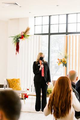 guest speaker at bridal event