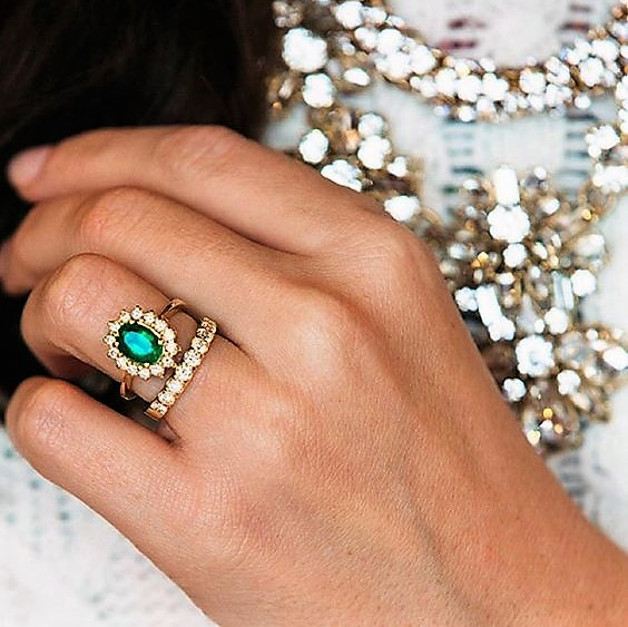 While Fashion Is Always Changing One Particular Trend That Growing In Pority Coloured Gemstone Rings Especially For Engagement