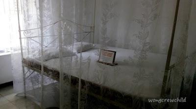 kamar tidur bung karno di istana gebang