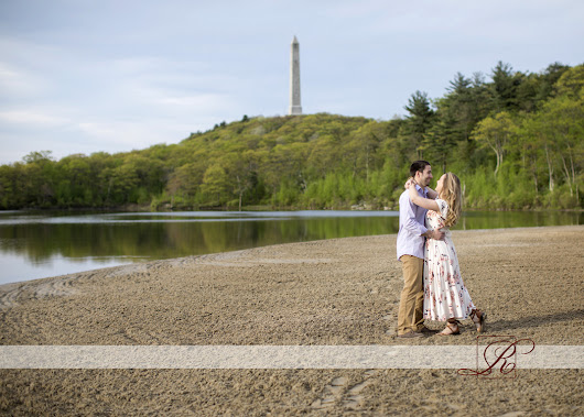 New Jersey Spring Engagement Photos for Christina and Kenneth