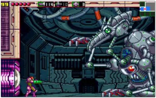 Metroid Zero Mission Game Boy Advance