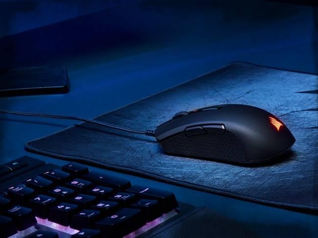Inexpensive symmetric mouse Corsair M55 RGB Pro