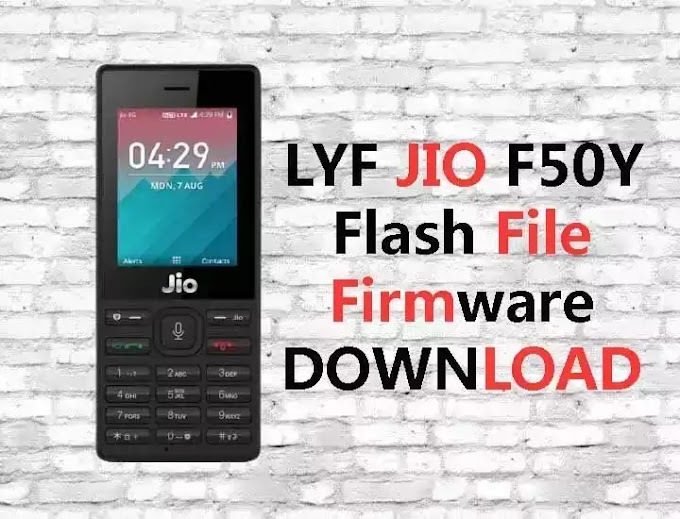 LYF Jio F50Y Tested Flash File (Stock Firmware ROM)