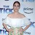 Alexandra Turshen comparece ao blue carpet da premiere de 'The Tick' no Village East Cinema, em New York City - 16/08/2017
