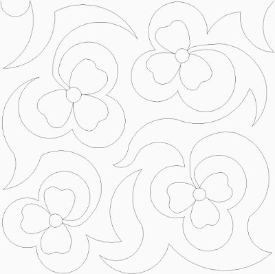 'Clover' digital pattern
