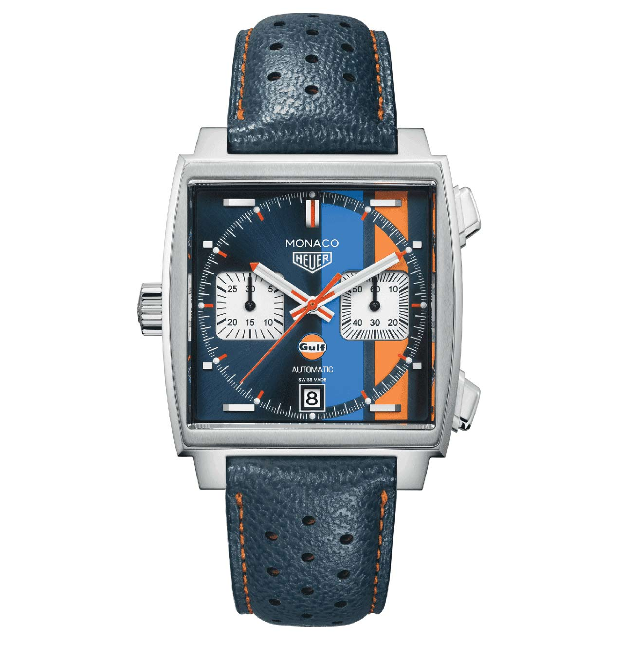 tag heuer monaco gulf special edition 2017 time and. Black Bedroom Furniture Sets. Home Design Ideas
