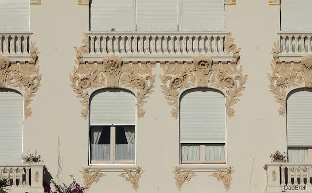 Façade de maison à Saint-Raphaël