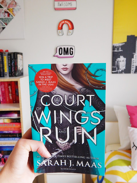 A Court Of Wings And Ruin No Spoiler Book Review | sprinkledpages