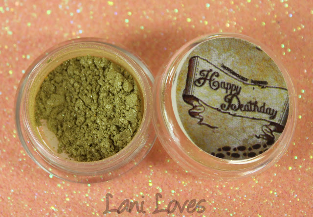 Notoriously Morbid Fat Friar Eyeshadow Swatches & Review