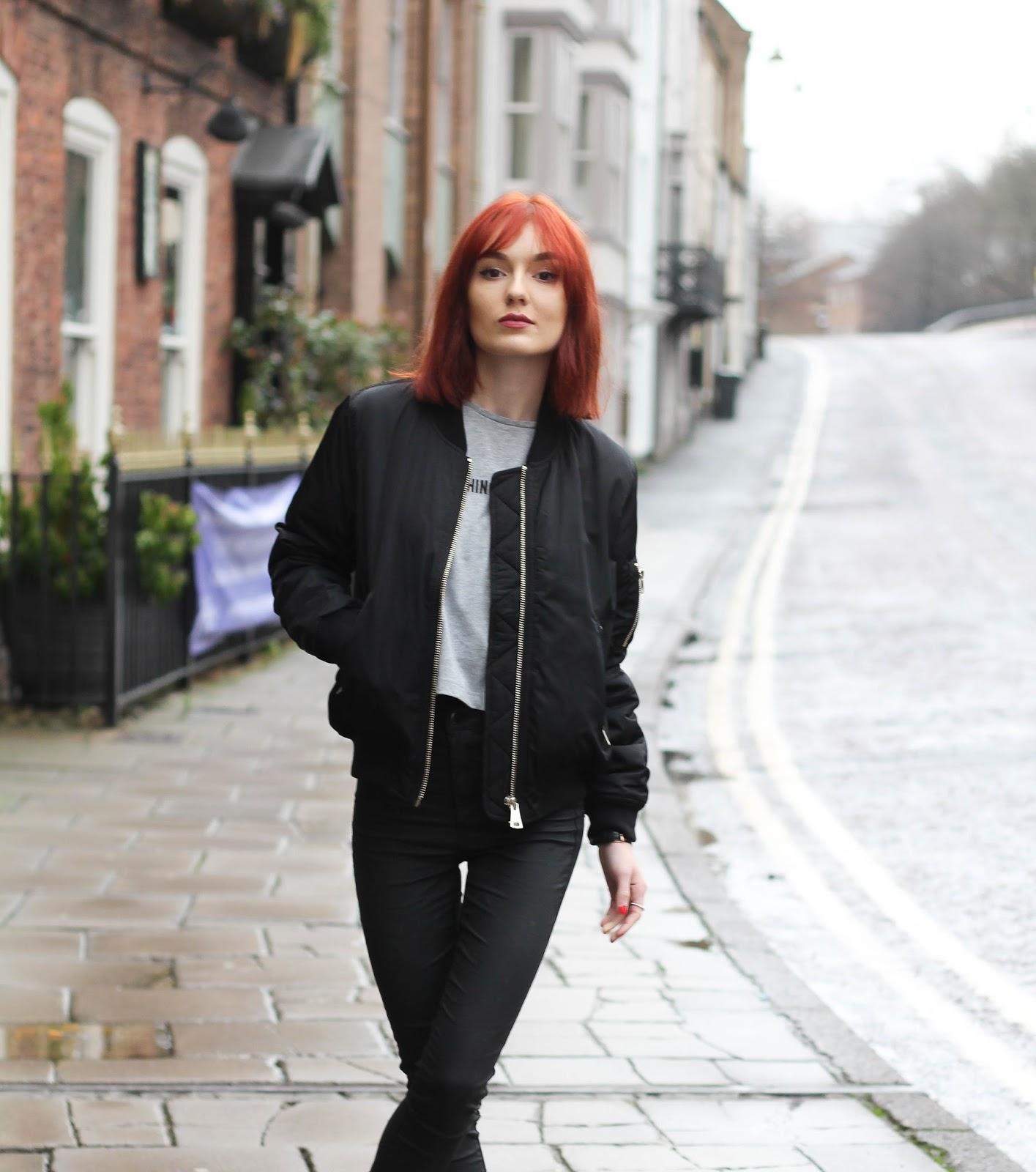 2740bdc5 MA1 Bomber Jacket | Salt and Chic // UK Fashion Blog | Bloglovin'