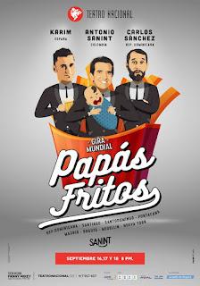 POS Comedia PAPAS FRITOS | Teatro Nacional Fanny Mikey