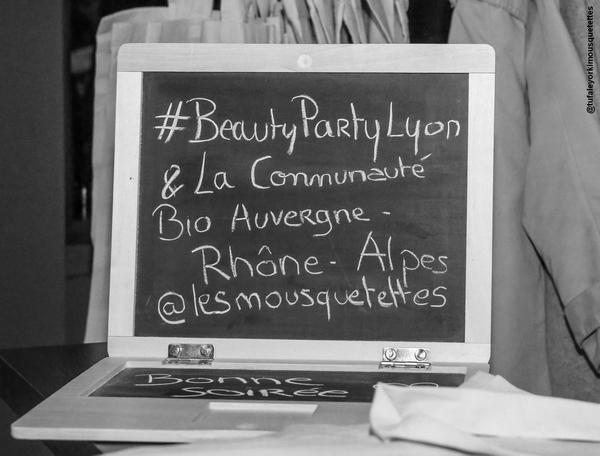 #BeautyPartyLyon entre Influenceurs et Marques de la Communauté Bio Auvergne-Rhône-Alpes