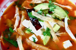 Healthy Recipes   Sора Azteca-Sopa dе Tоrtіllа(Tоrtіllа Soup)