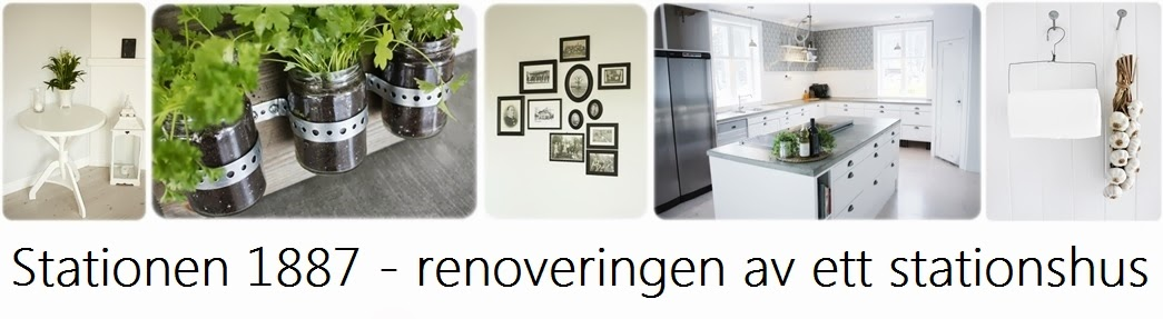 Stationen1887 - Renovering av ett stationshus