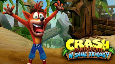 crash bandicoot logo novo jogo mobitecno