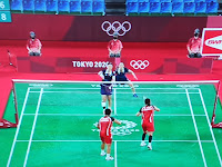 Indonesian Women's Doubles Greysia Polli, Apriyani Rahayu to the Tokyo Olympics Final.