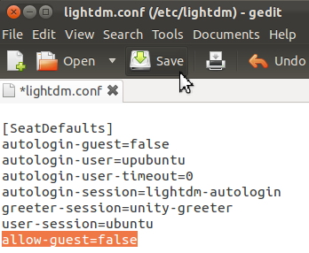 How To Disable The Guest Session On Ubuntu 11 10 Oneiric Ocelot