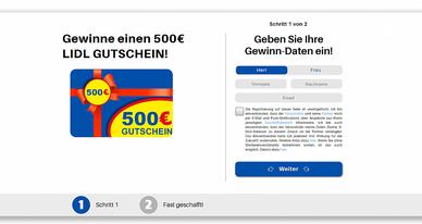 Gewinne eien 500 EUR LIDL GUTSCHEIN