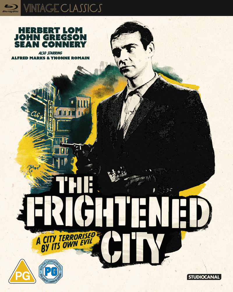 the frightened city blu-ray