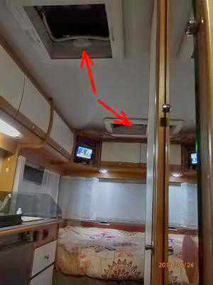 Camping Car Interieur Renove