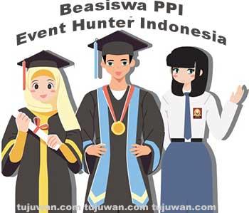 Panduan Beasiswa PPI Event Hunter Indonesia