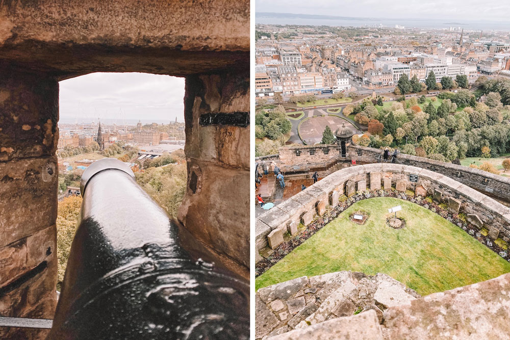 travel blogger Amanda Martin visits Edinburgh Castle