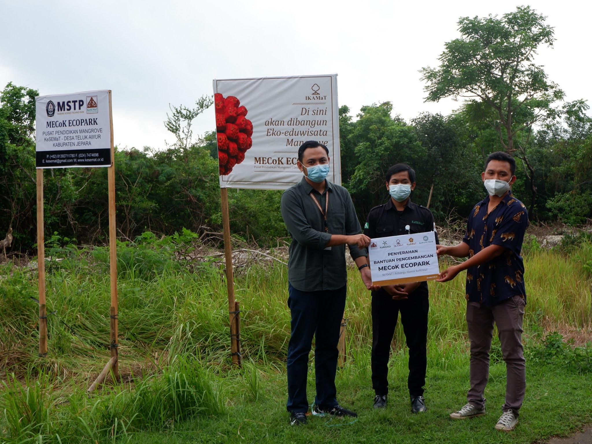 IKAMaT Resmi Mulai Program Pengembangan MECoK Ecopark di Jepara