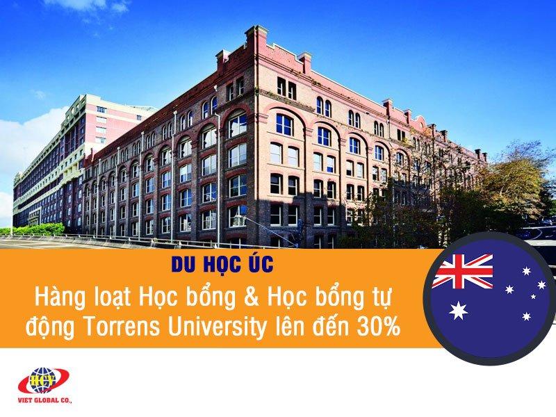 Du học Úc: Hàng loạt Học bổng & Học bổng tự động Torrens University lên đến 30%